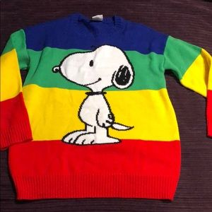 Peanuts snoopy sweater